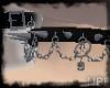 Skulls&chains choker V2