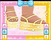 Kids Lemon Sandals