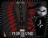 ♆ Queen Goth Red Fur