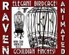 GOULDIAN FINCH BIRDCAGE!