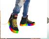 Rainbow custom converse