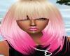 Stylish Blonde & Pink