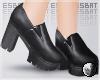 魔 Platform Loafers