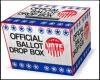 USA BALLOT DROP BOX