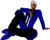 BlueBlk Dress Pants