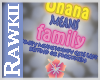 [Raw] Ohana means family