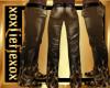 [L] GOLD FLAME Pants M