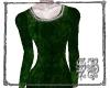 SB Green Velvet Leotard