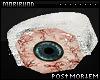 ♆ iced eye ring: left
