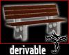 [T] Derivable Park Bench