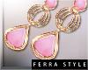 ~F~Pastila Earrings Pink