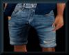 [LM]M Denim Shorts-Blue