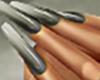 Ina Silver Nails No Ring