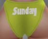 Sunday Panties RL