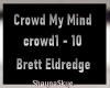 Crowd My Mind - Brett E