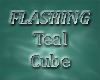 Teal Dance Cube