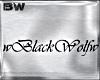 wBlackWolfw Sign B
