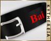 K  Bai collar