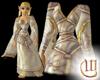 Priestess Gown - White