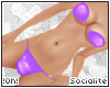 !0h! PVC Bikini |Purple