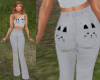 TF* Grey Kitty Outfit