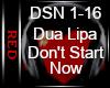  R  Don't Start Now