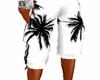 (M) Palm Tree Shorts