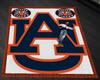 ~1/2~ Auburn Tigers Rug