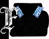 *F B Velvet&Blue Chair