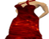Revan Red evening gown