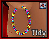 Charm Bead Earrings [T]