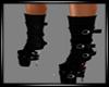 {LA} Black boots