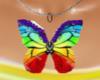 RainbowButterfly Necklac