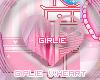 Girlie Round HeartButton