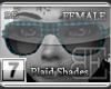 [BE] Blue Plaid Shades F