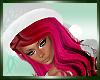 :)Santa Hat w/Hair Punky