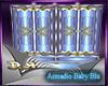 armadio baby blu
