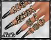 Nails - Blacken Design