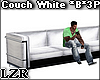 Couch White *Black *3P