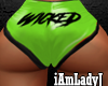 Simply Wicked! Booty Grn