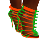 fransha greorange heels