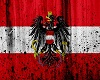 Austria Flag Grunge Art