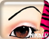 [N] Blaq Star Eyebrows
