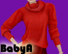 ~BA Red Sweater
