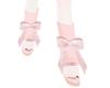 koko.Lace pinkbow shoes