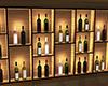 Wine shelf Display