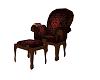 Hogwarts reading chair