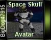 [BD] Space Skull Avatar