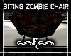 {E} Biting Zombie Chair