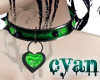 *c* Emerald Heart Collar